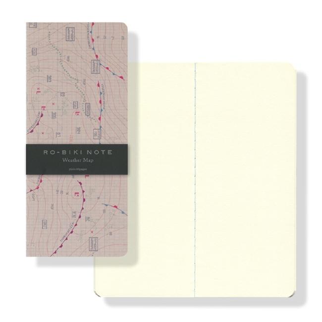ro biki note 蝋引きノート
